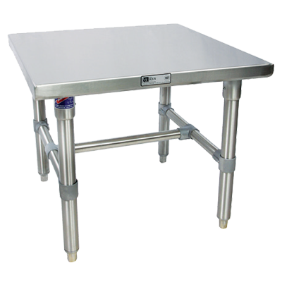 John Boos S16MS08 equipment stand, for mixer / slicer
