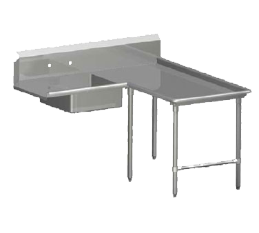 John Boos SDT4-I60108SBK-R dishtable, soiled