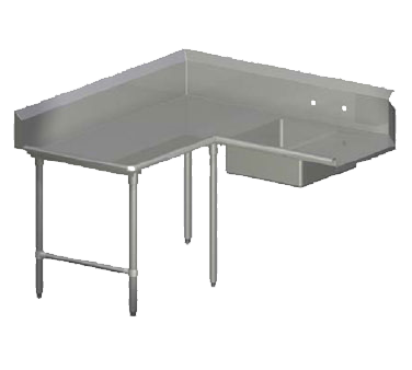 John Boos SDT4-K6048SBK-L dishtable, soiled