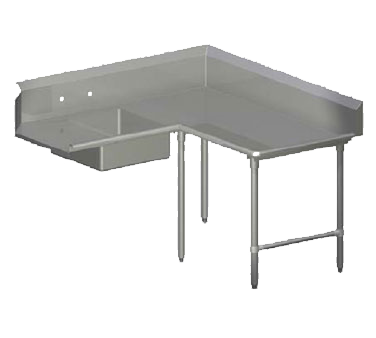 John Boos SDT6-K6084GBK-R dishtable, soiled