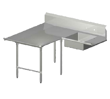 John Boos SDT6-L7072SBK-L dishtable, soiled
