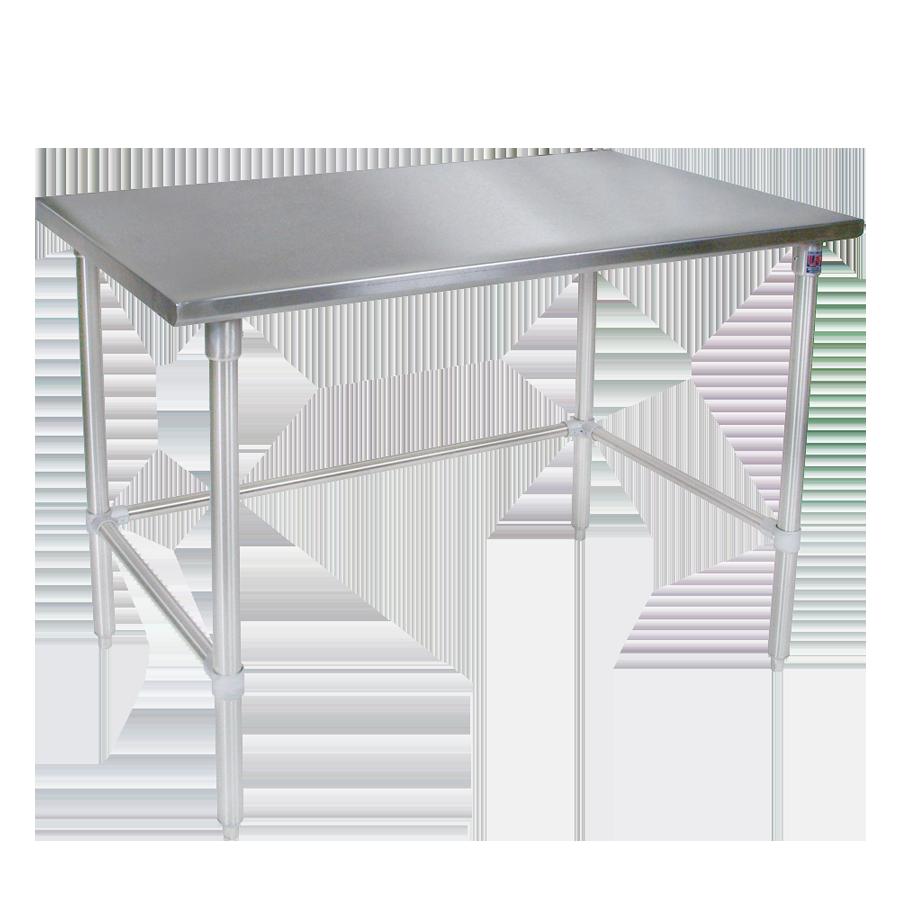 John Boos ST4-2484GBK work table,  73