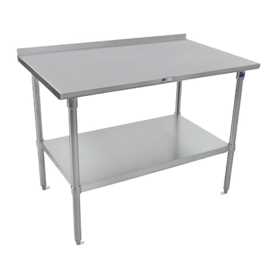John Boos ST4R1.5-2424SSK work table,  24
