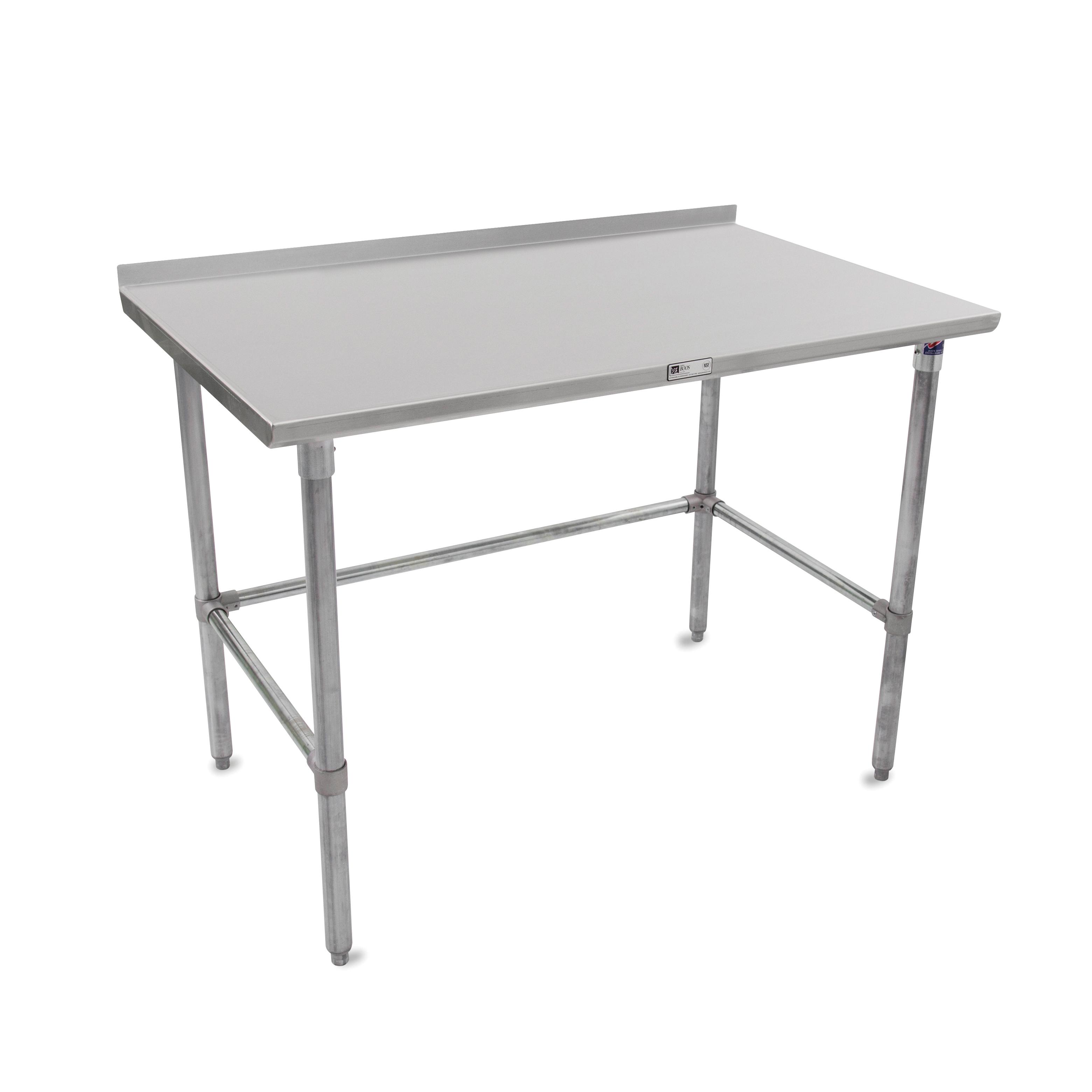 John Boos ST6R1.5-3048GBK work table,  40