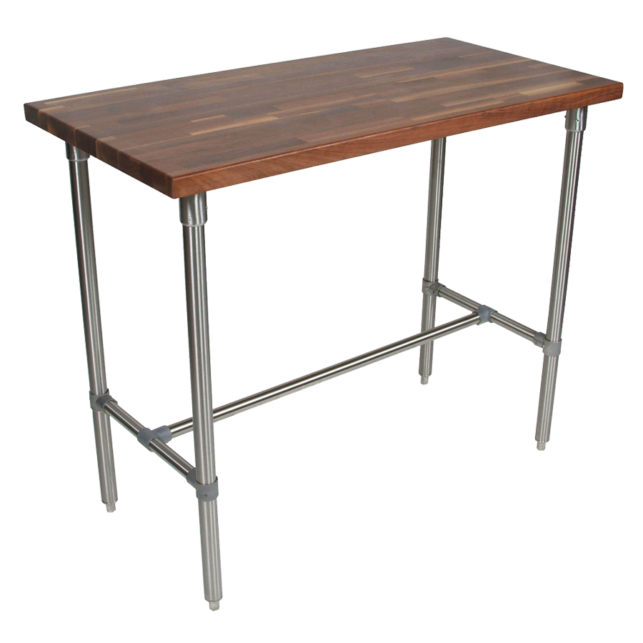 John Boos WAL-CUCKNB424 table, utility