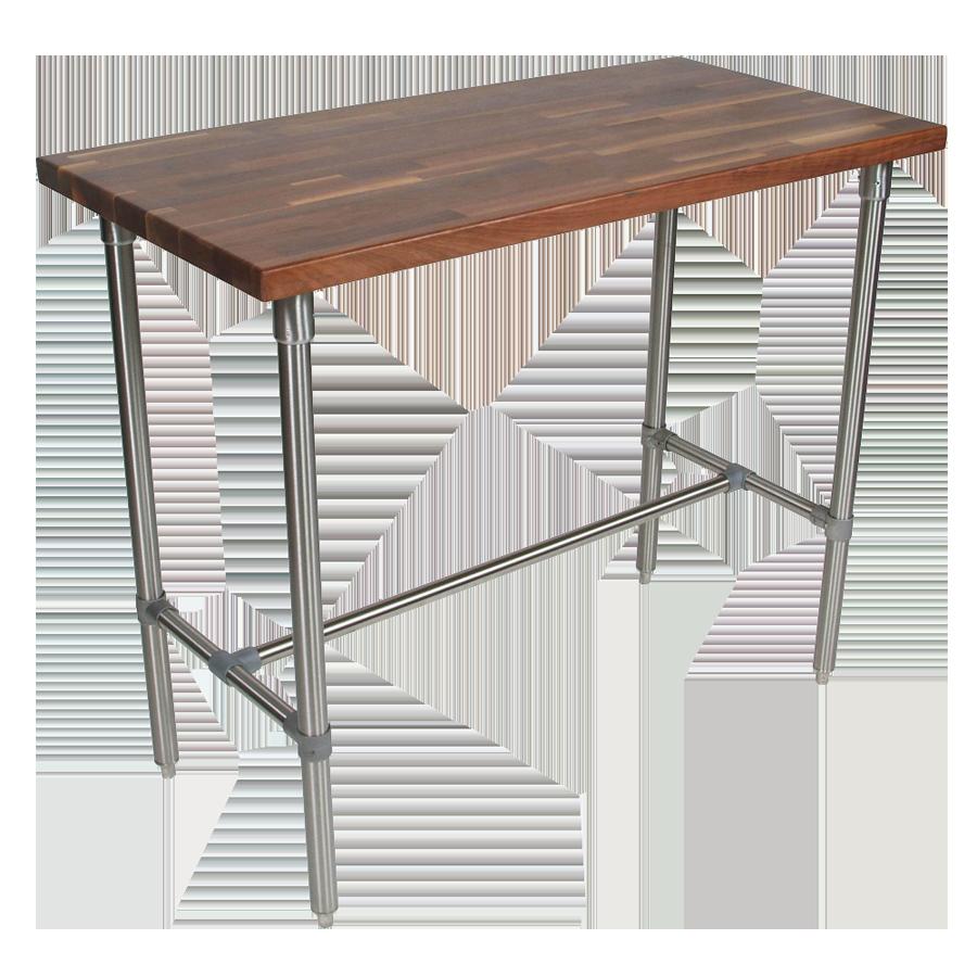John Boos WAL-CUCKNB424-40 table, utility