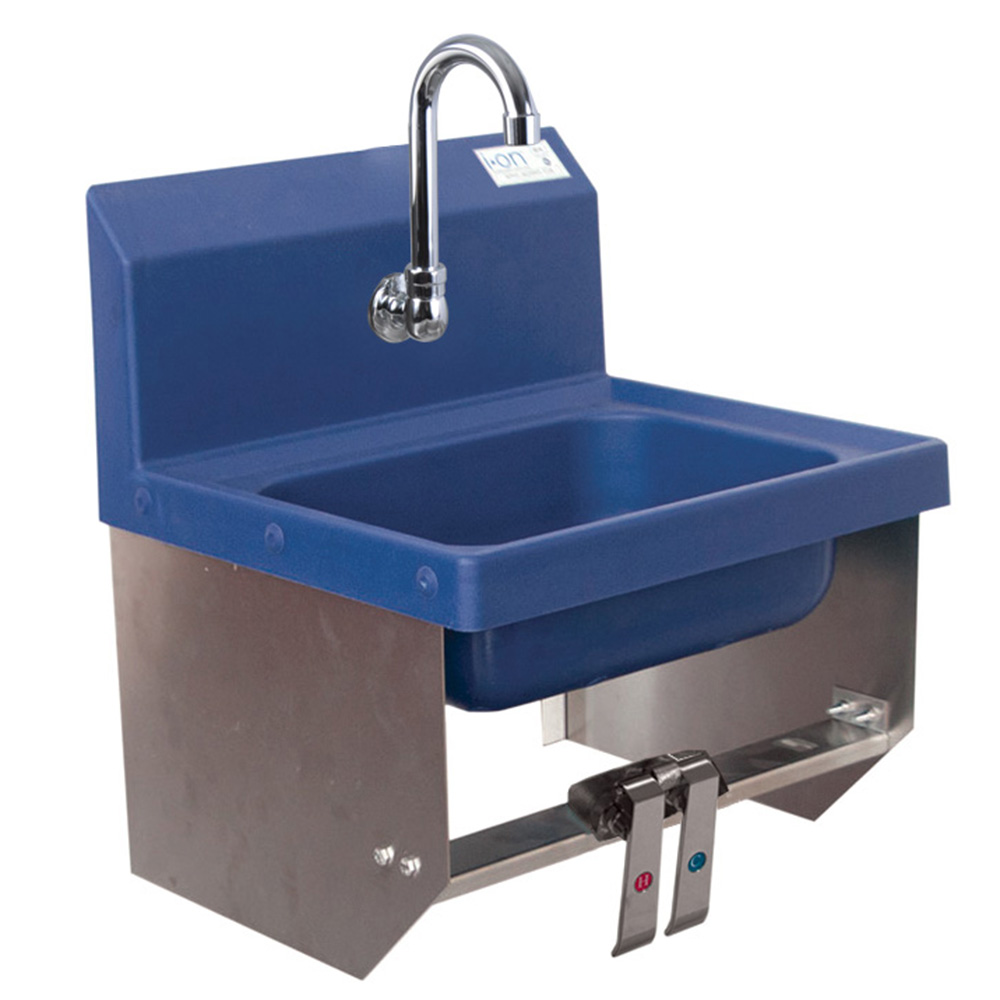 BK Resources APHS-W1410-BKKPG sink, hand