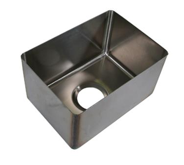 BK Resources BKFB-1618-14-16 sink bowl, weld-in / undermount