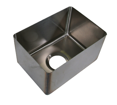 BK Resources BKFB-1620-12-16 sink bowl, weld-in / undermount