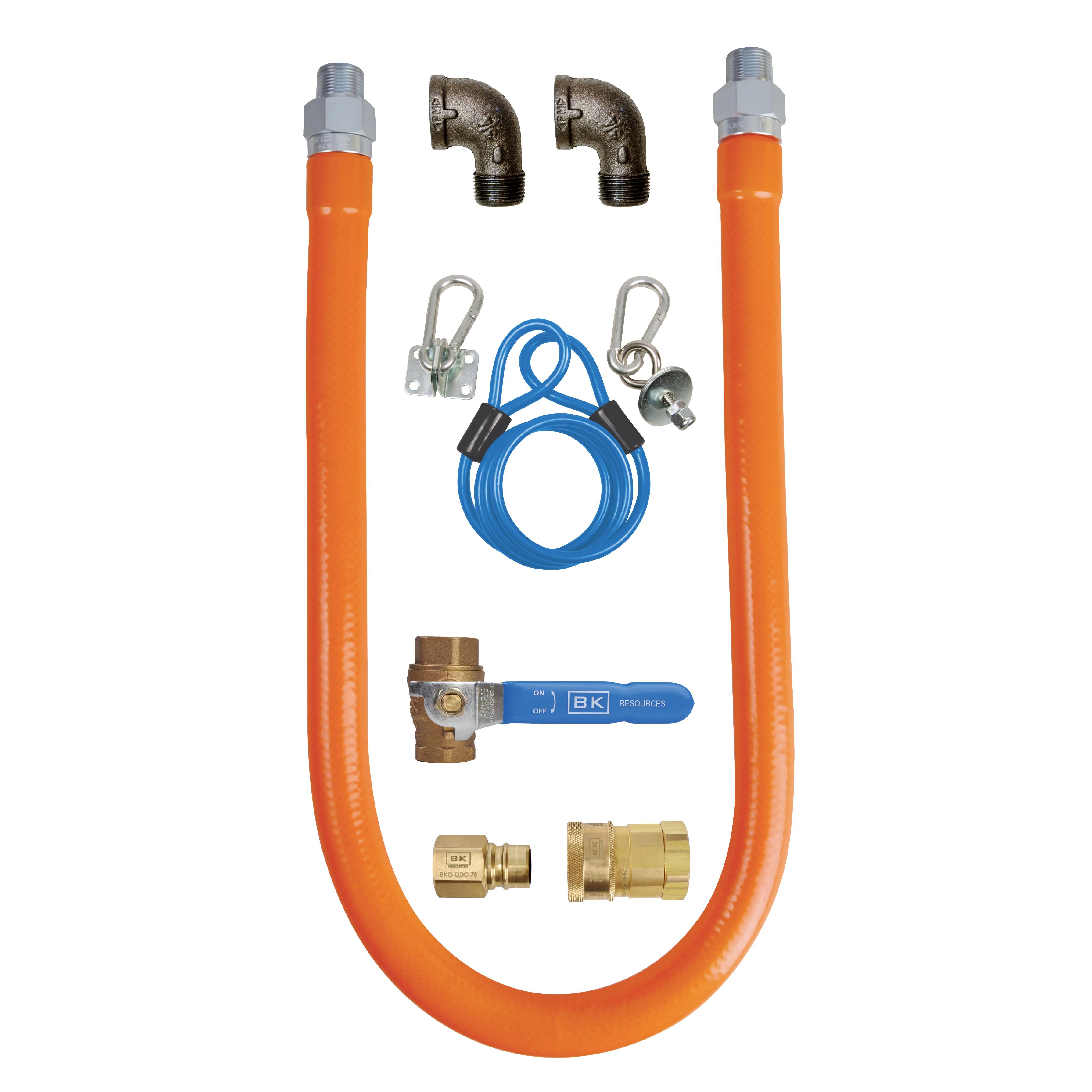 BK Resources BKG-GHC-5060-SCK3 gas connector hose kit