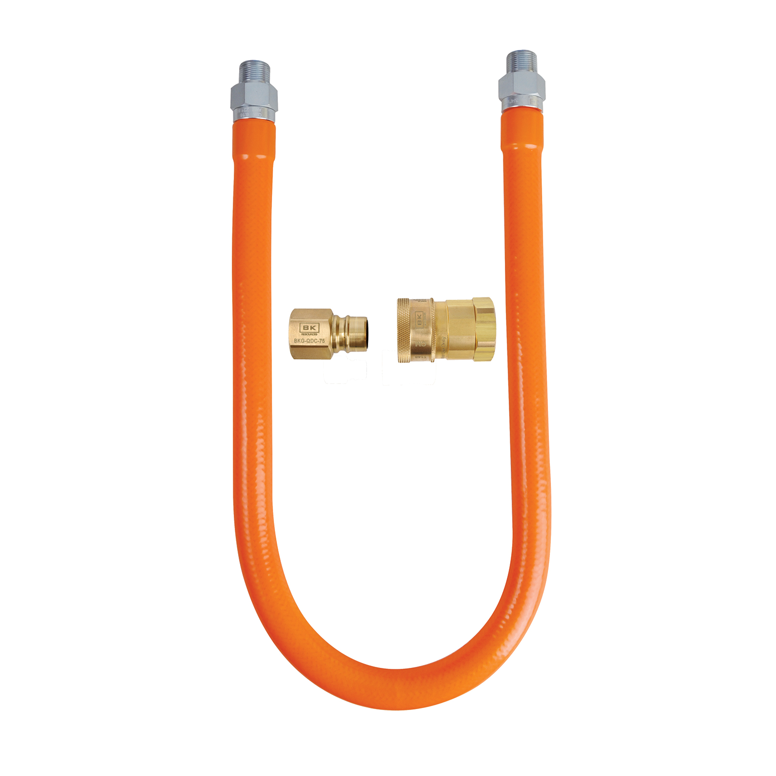 BK Resources BKG-GHC-7524-QD-PT gas connector hose kit