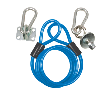 BK Resources BKG-RCK-48 restraining cable gas equip
