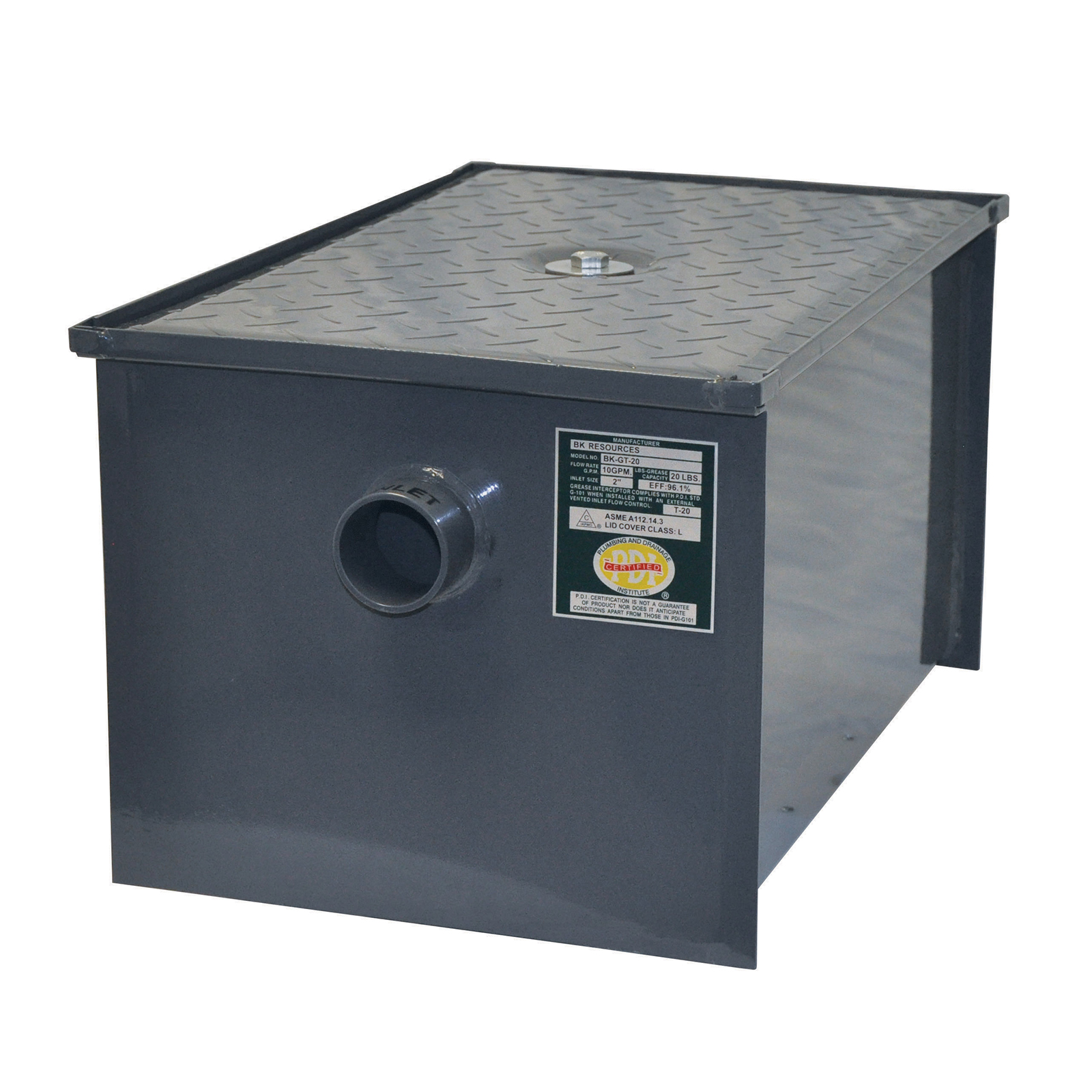 BK Resources BK-GT-50 grease trap