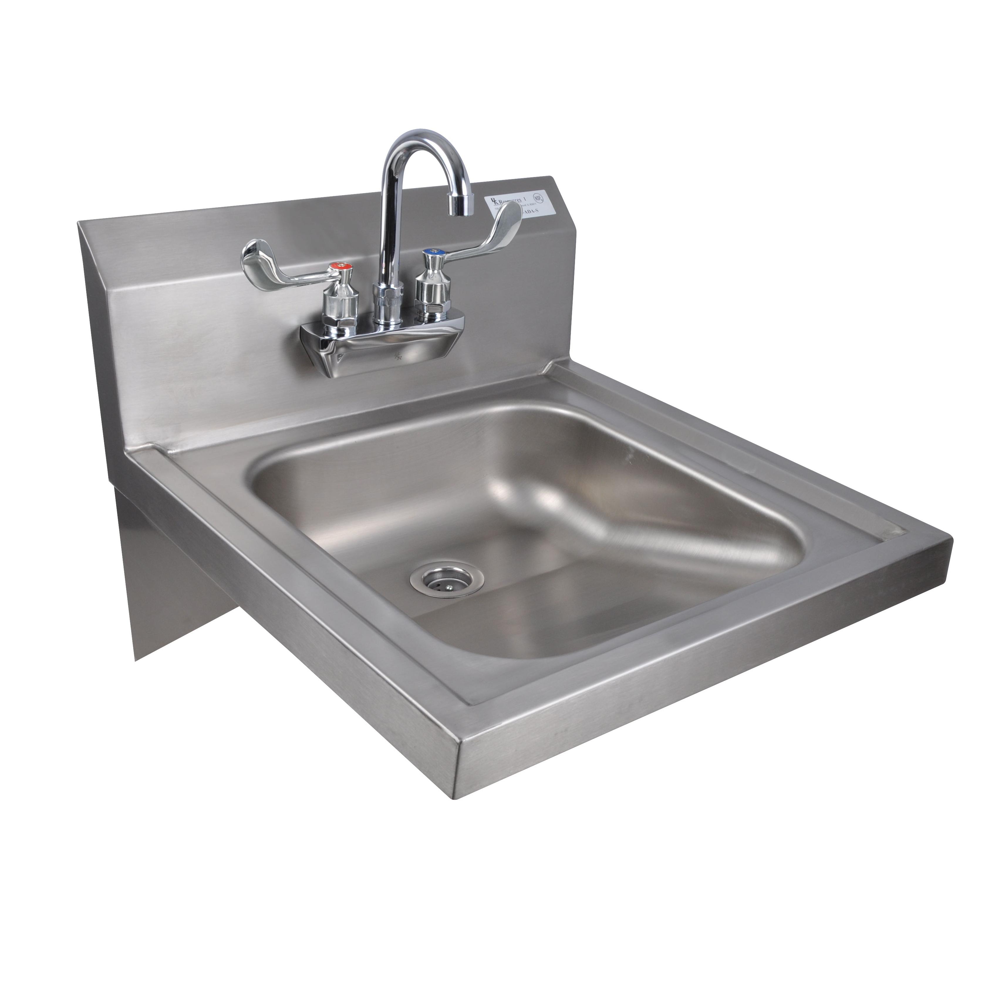 BK Resources BKHS-ADA-S-P-G sink, hand