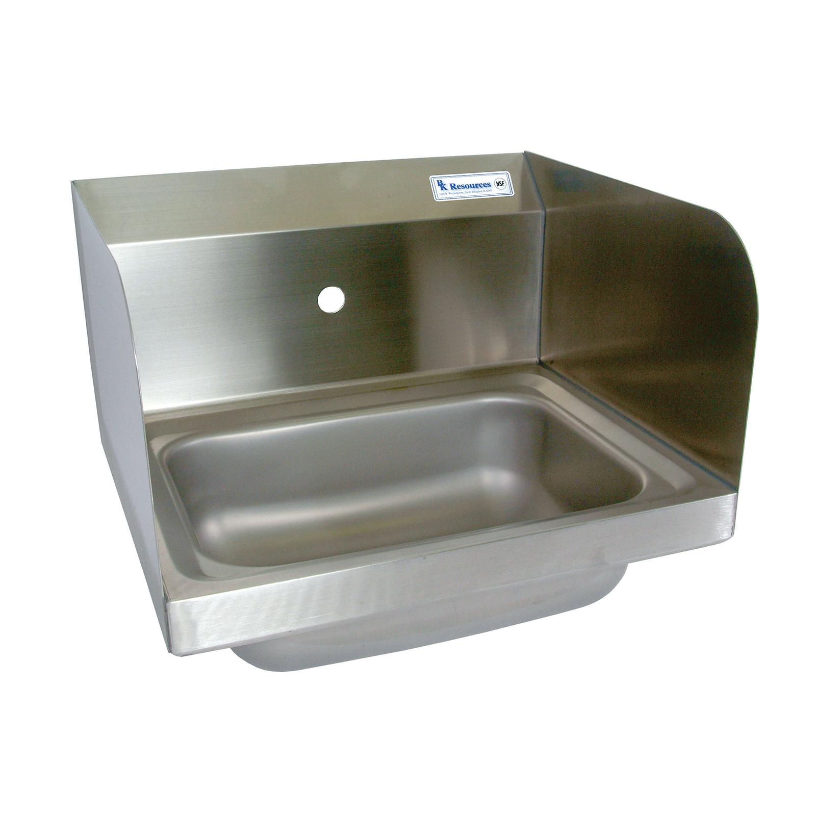 BK Resources BKHS-W-1410-1-SS sink, hand