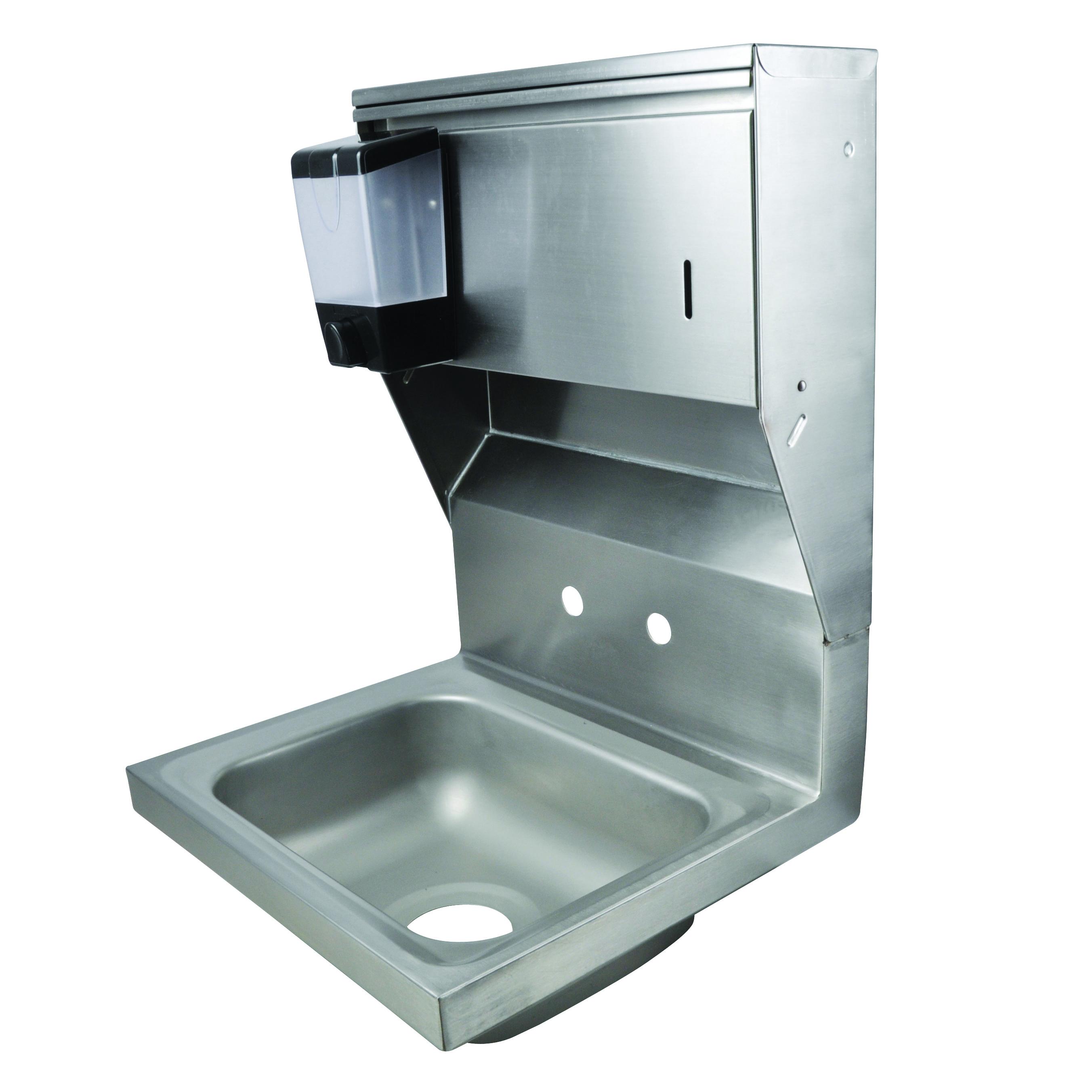 BK Resources BKHS-W-1410-4D-TD sink, hand
