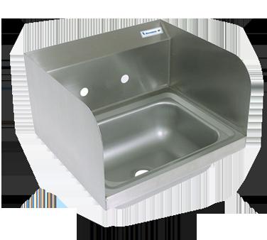 BK Resources BKHS-W-1410-SS sink, hand