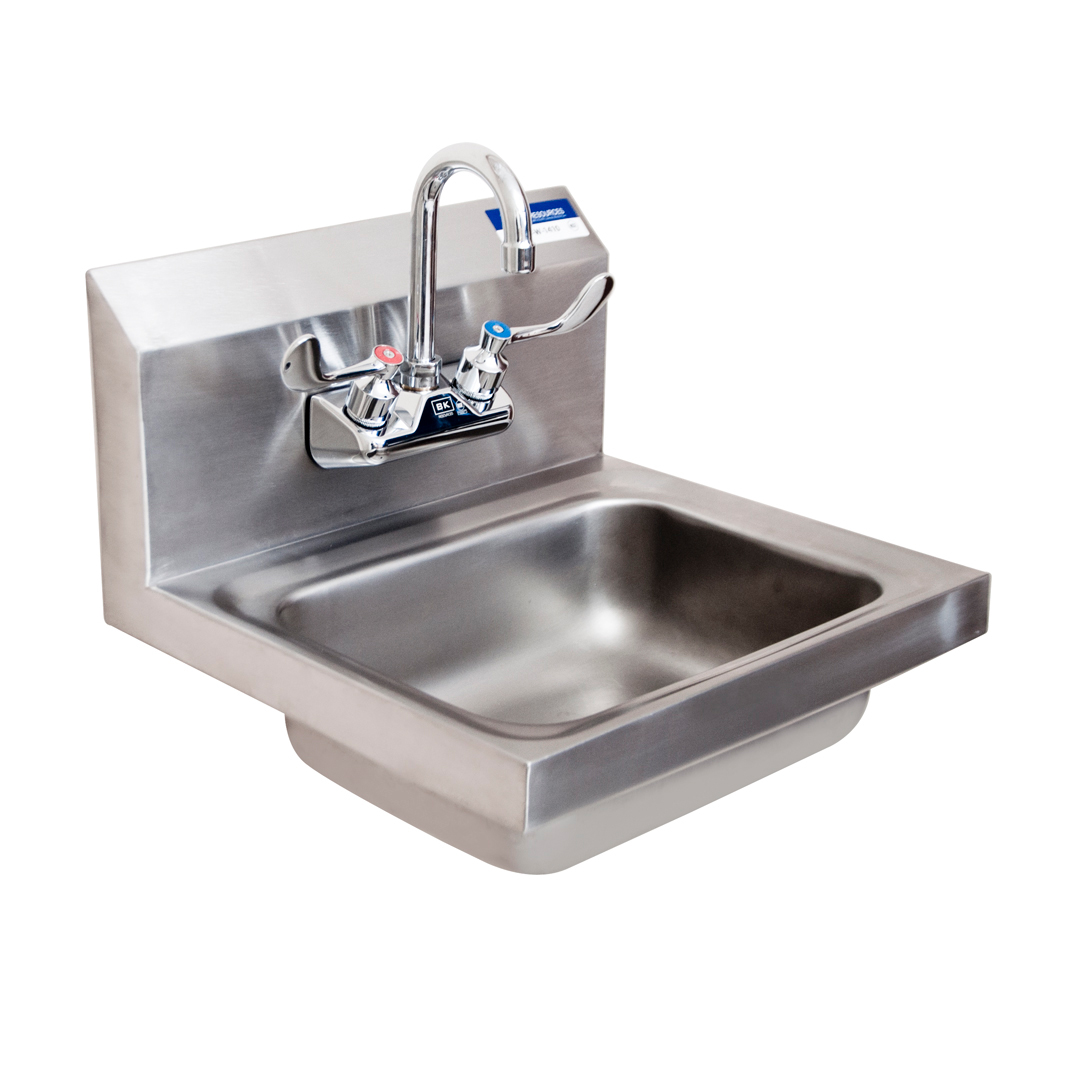 BK Resources BKHS-W-1410-W-G sink, hand