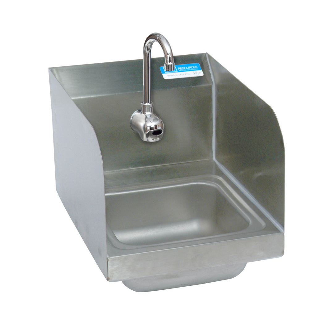 BK Resources BKHS-W-SS-1-SS-P-G sink, hand