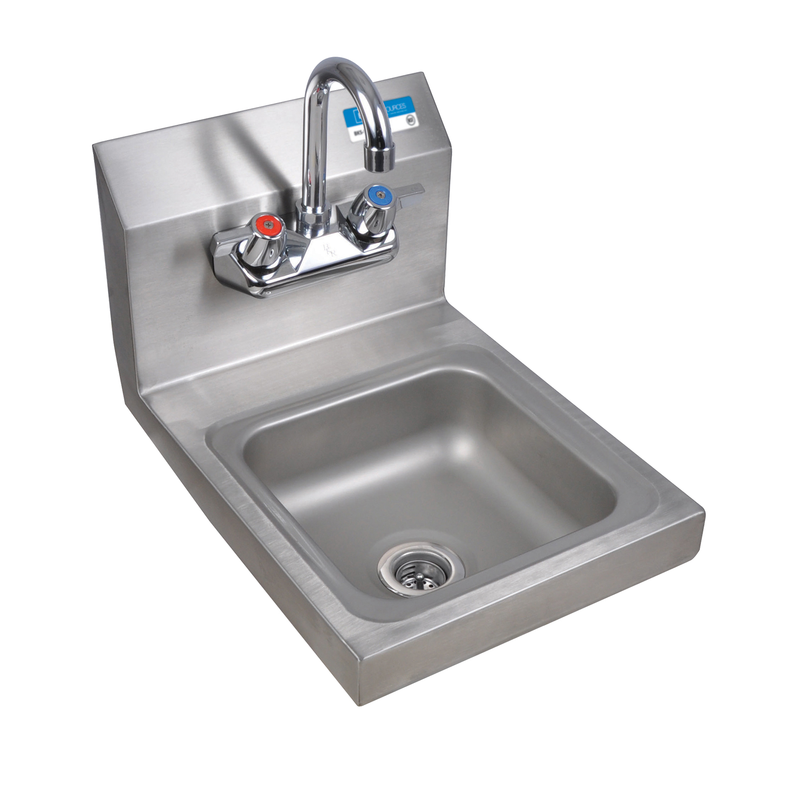 BK Resources BKHS-W-SS-P-G sink, hand