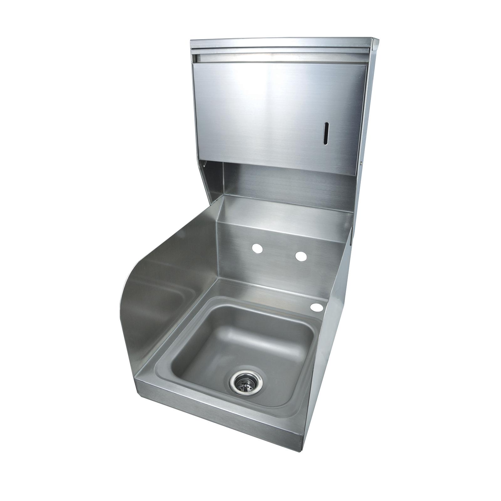 BK Resources BKHS-W-SS-SS-TD sink, hand