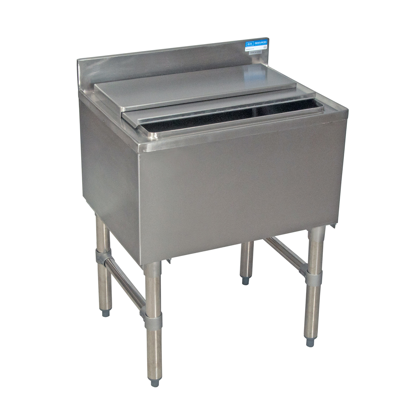 BK Resources BKIB-3612-18S underbar ice bin/cocktail unit