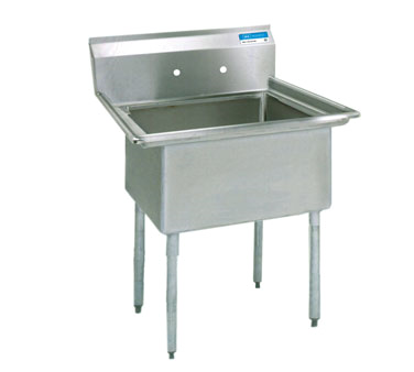BK Resources BKS-1-1620-12 sink, (1) one compartment
