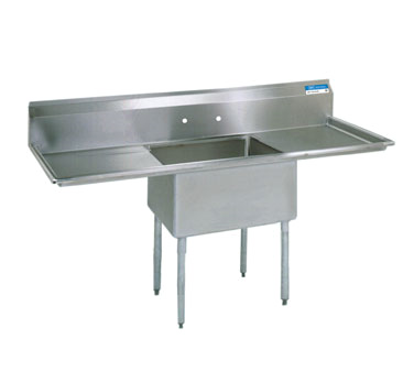 BK Resources BKS-1-1620-12-18T sink, (1) one compartment