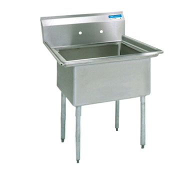 BK Resources BKS-1-18-12 sink, (1) one compartment