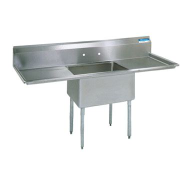 BK Resources BKS-1-18-12-18T sink, (1) one compartment