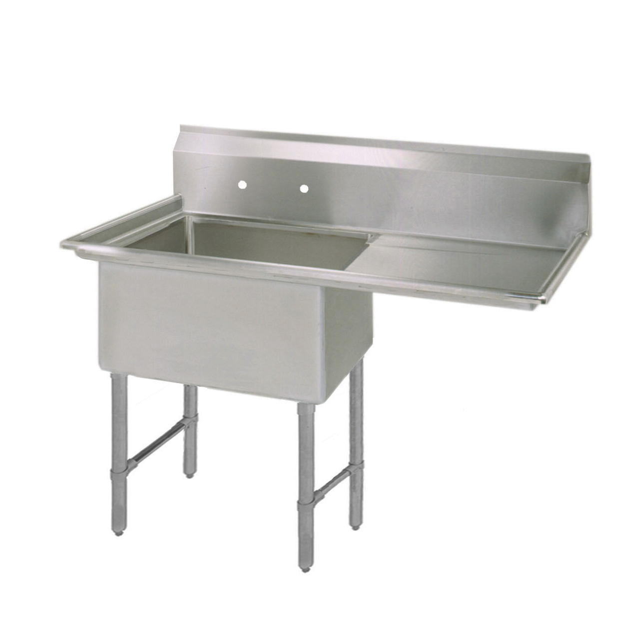 BK Resources BKS-1-1824-14-24RS sink, (1) one compartment