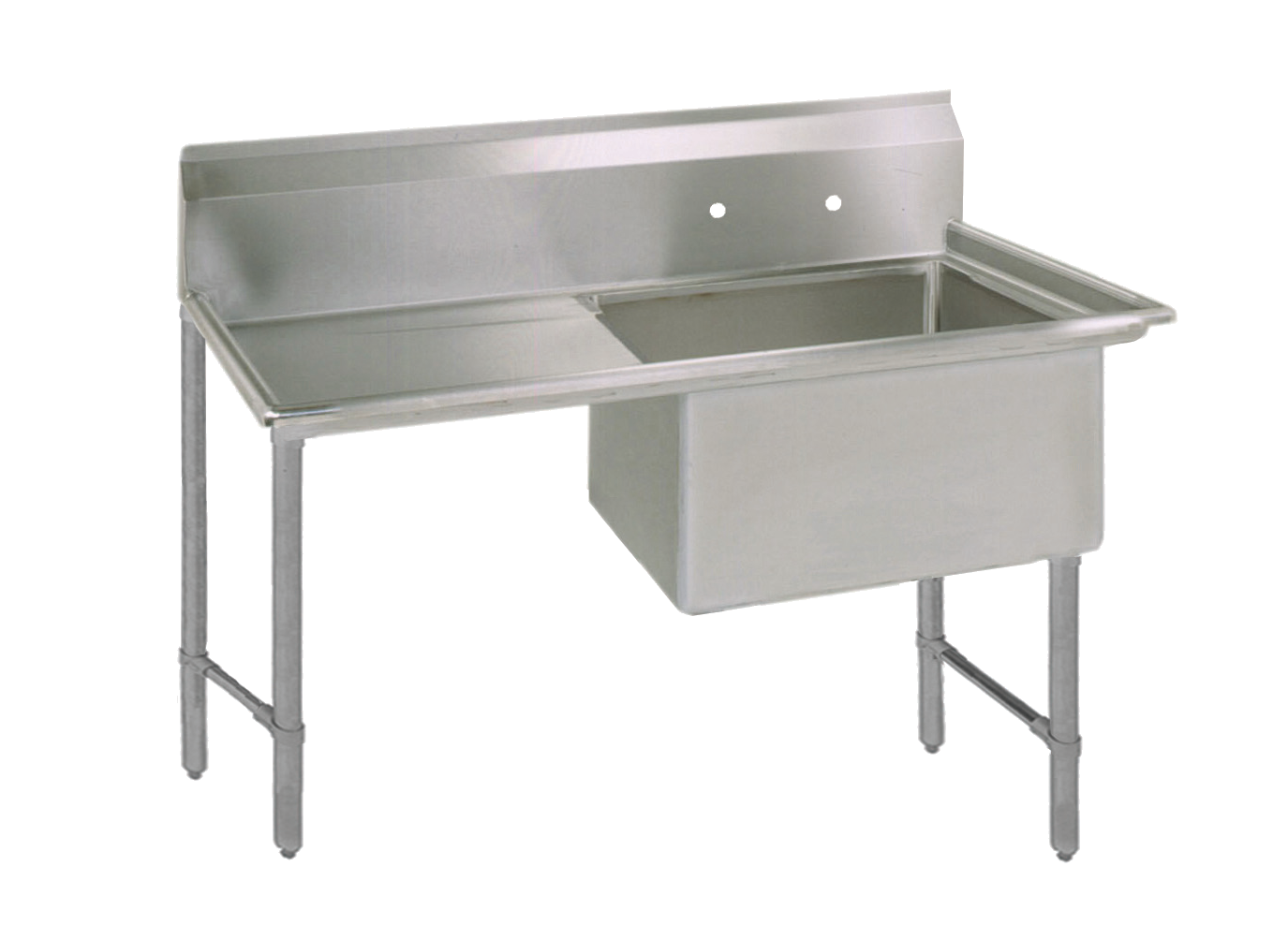 BK Resources BKS6-1-24-14-24LS sink, (1) one compartment