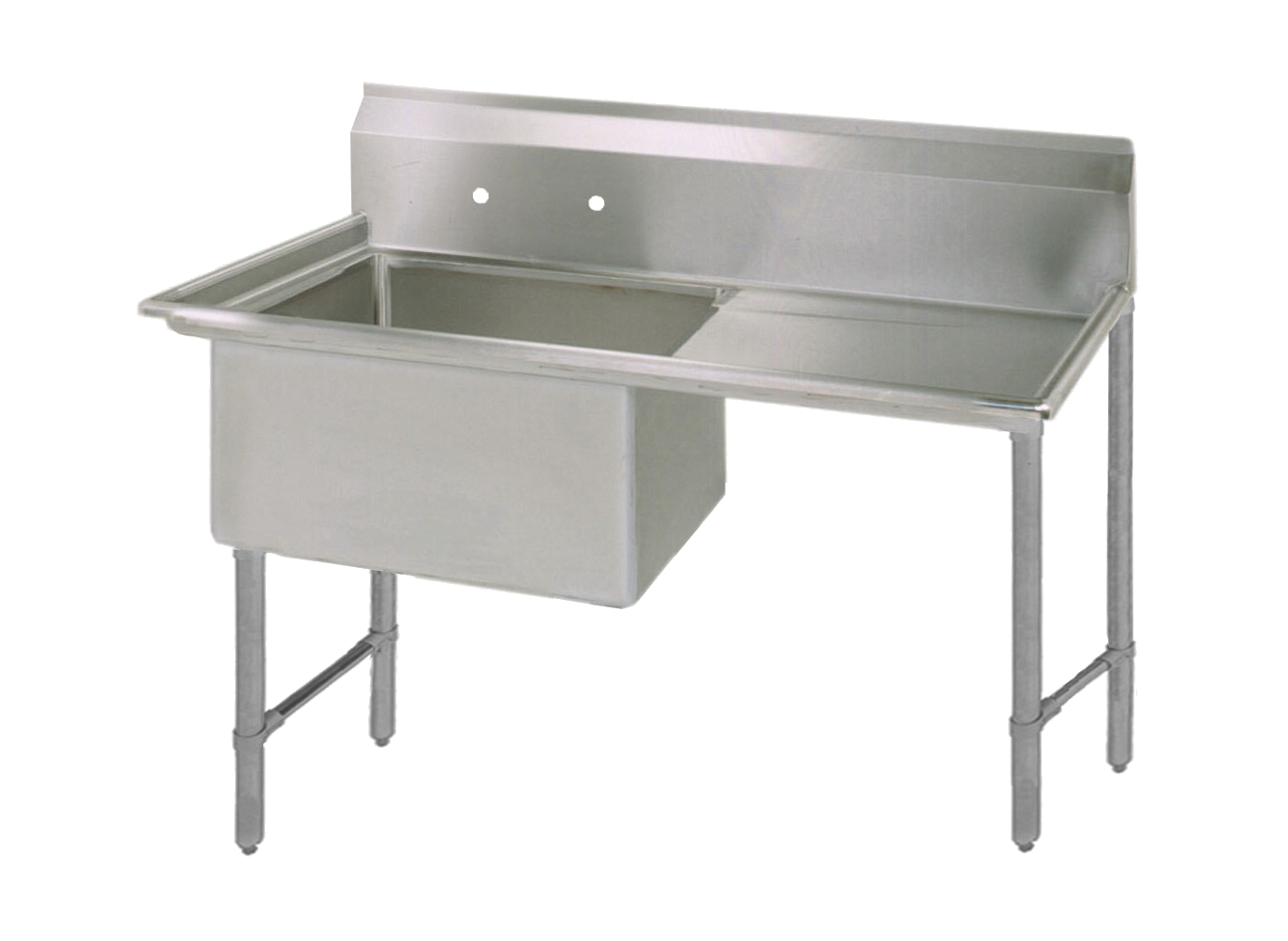 BK Resources BKS6-1-24-14-24RS sink, (1) one compartment