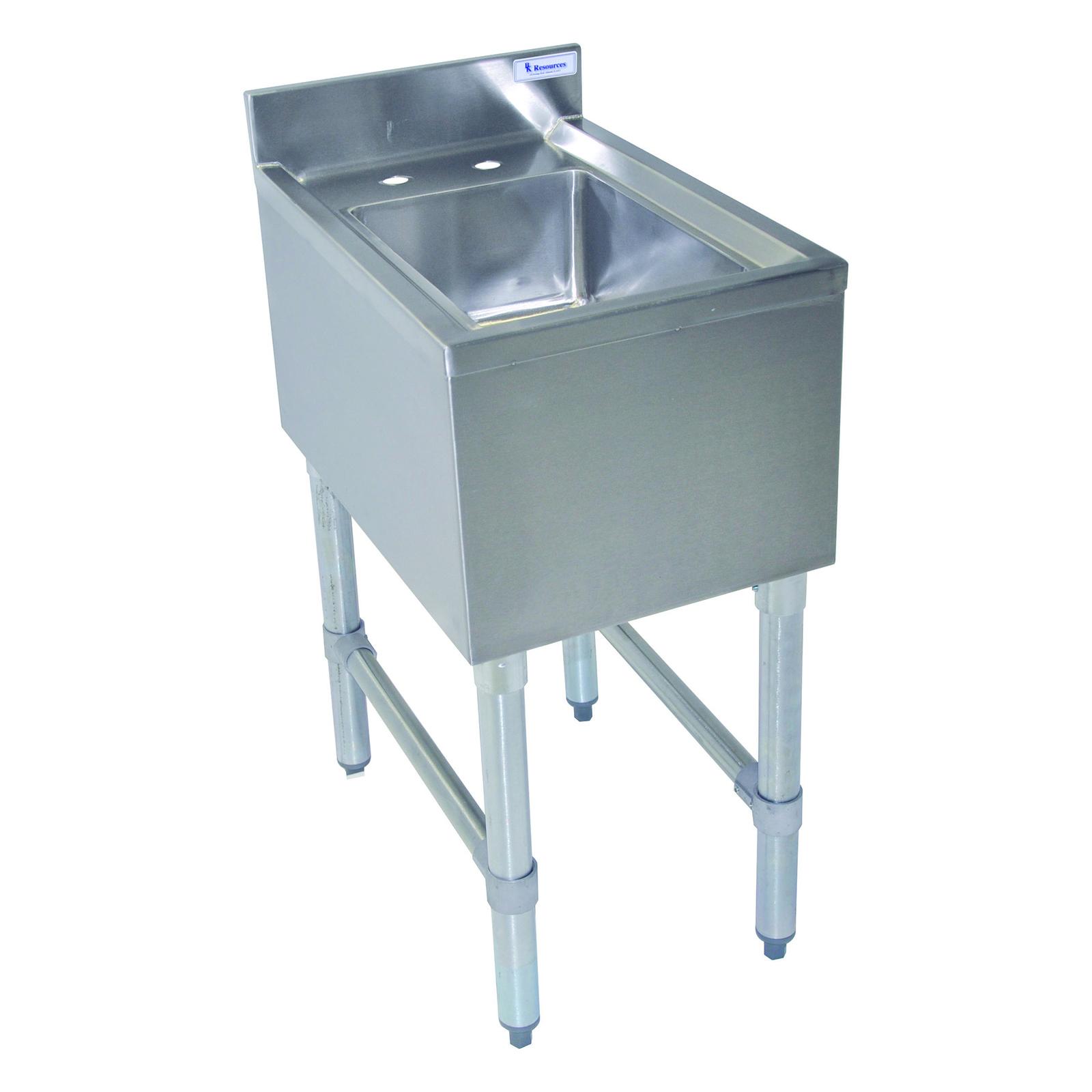 BK Resources BKUBS-1014HS12-P-GS underbar sink units