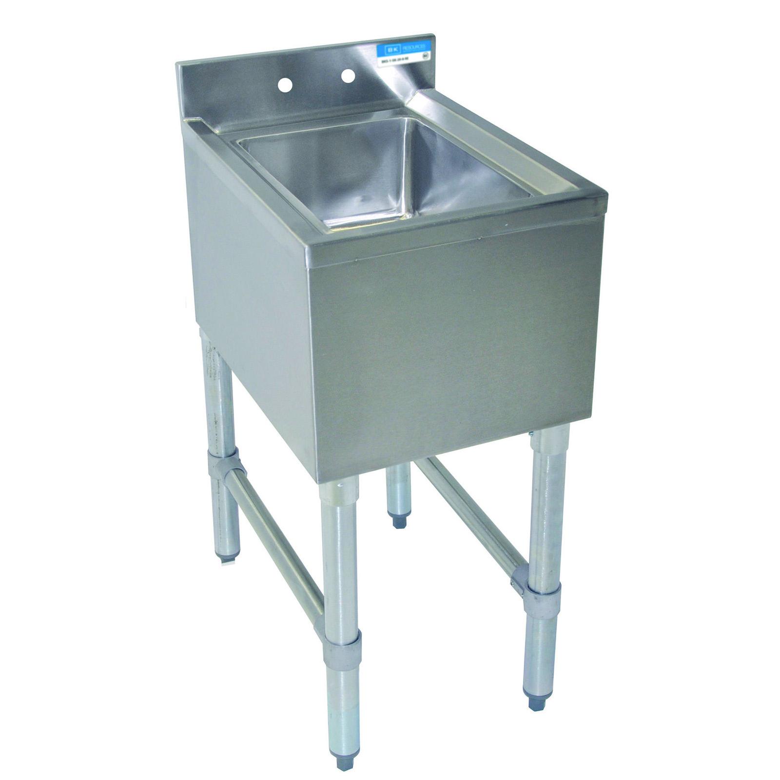 BK Resources BKUBS-1014HS-18S underbar sink units
