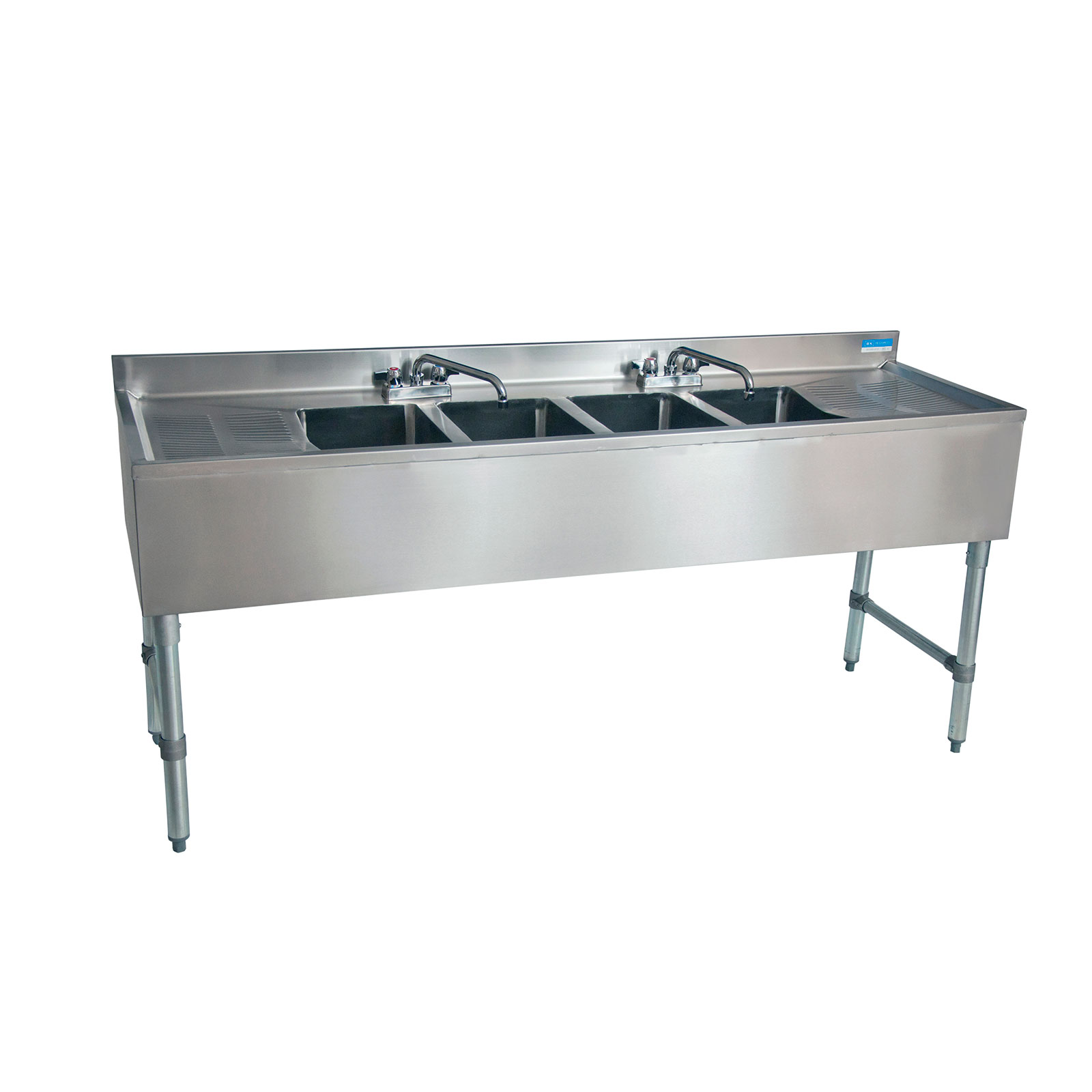 BK Resources BKUBS-484TS underbar sink units
