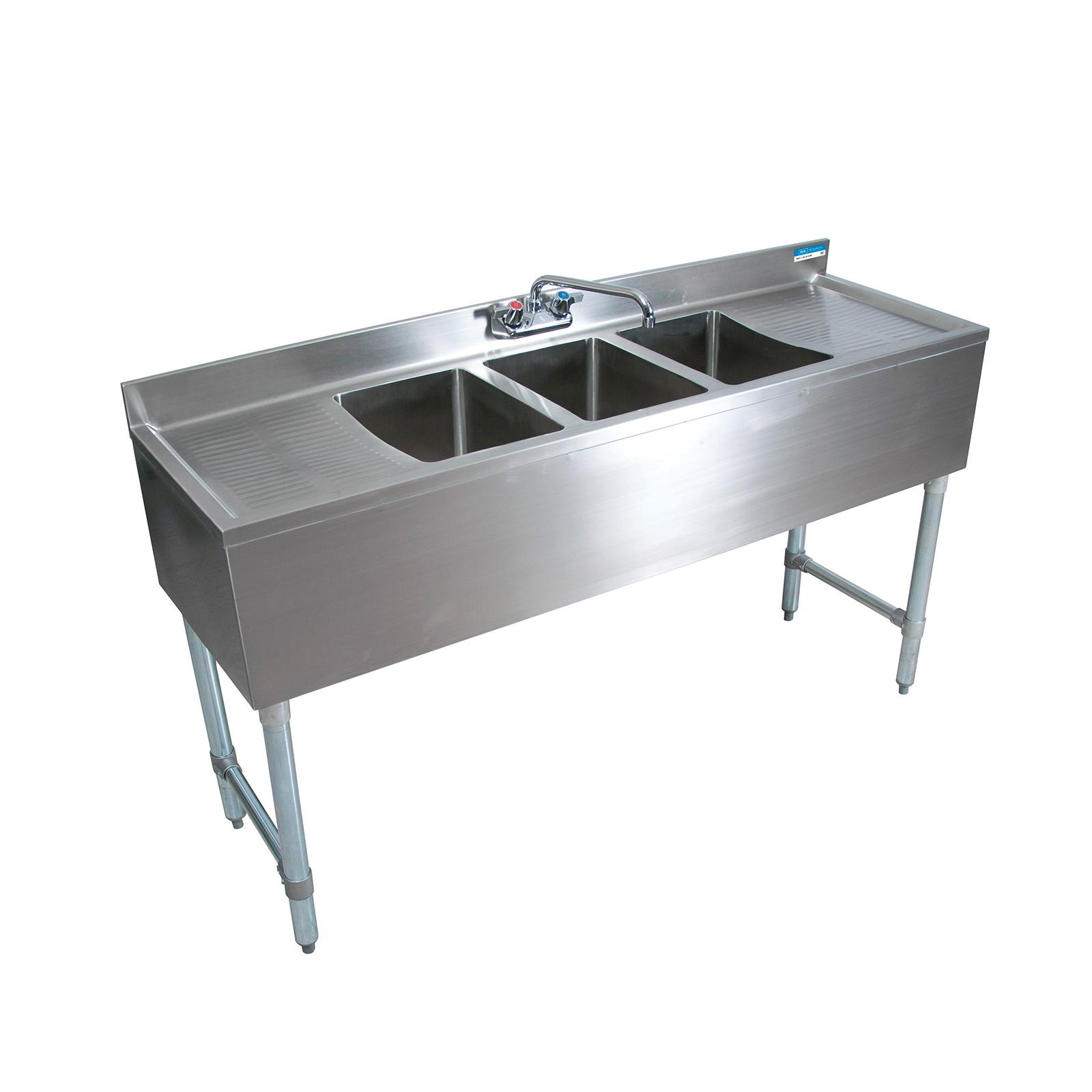 BK Resources BKUBW-372TS underbar sink units