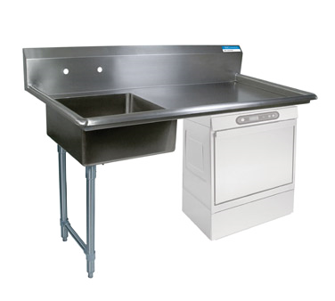 BK Resources BKUCDT-50-L-SS-P3-G dishtable, soiled, undercounter