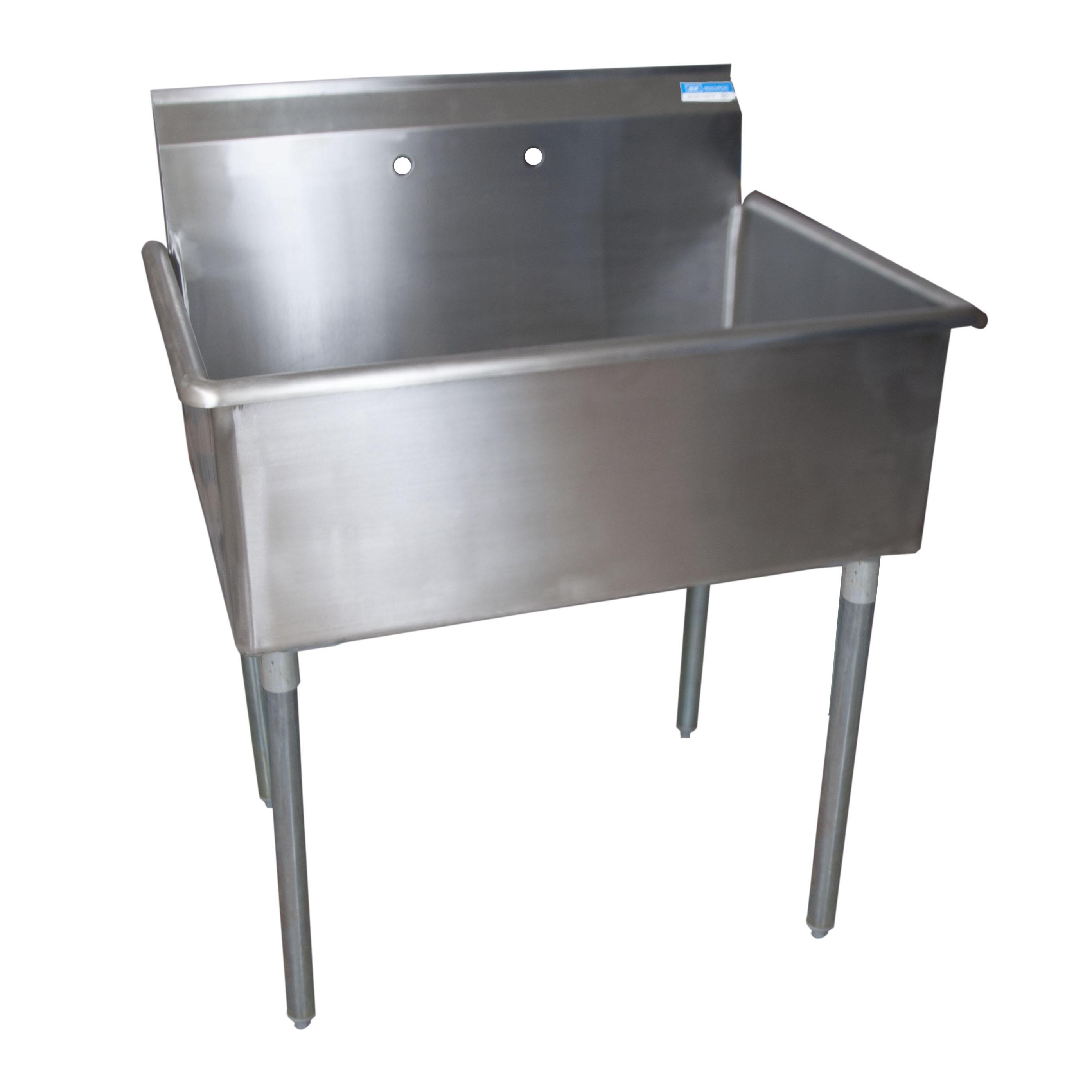 BK Resources BKUS6-1-3624-14 sink, (1) one compartment