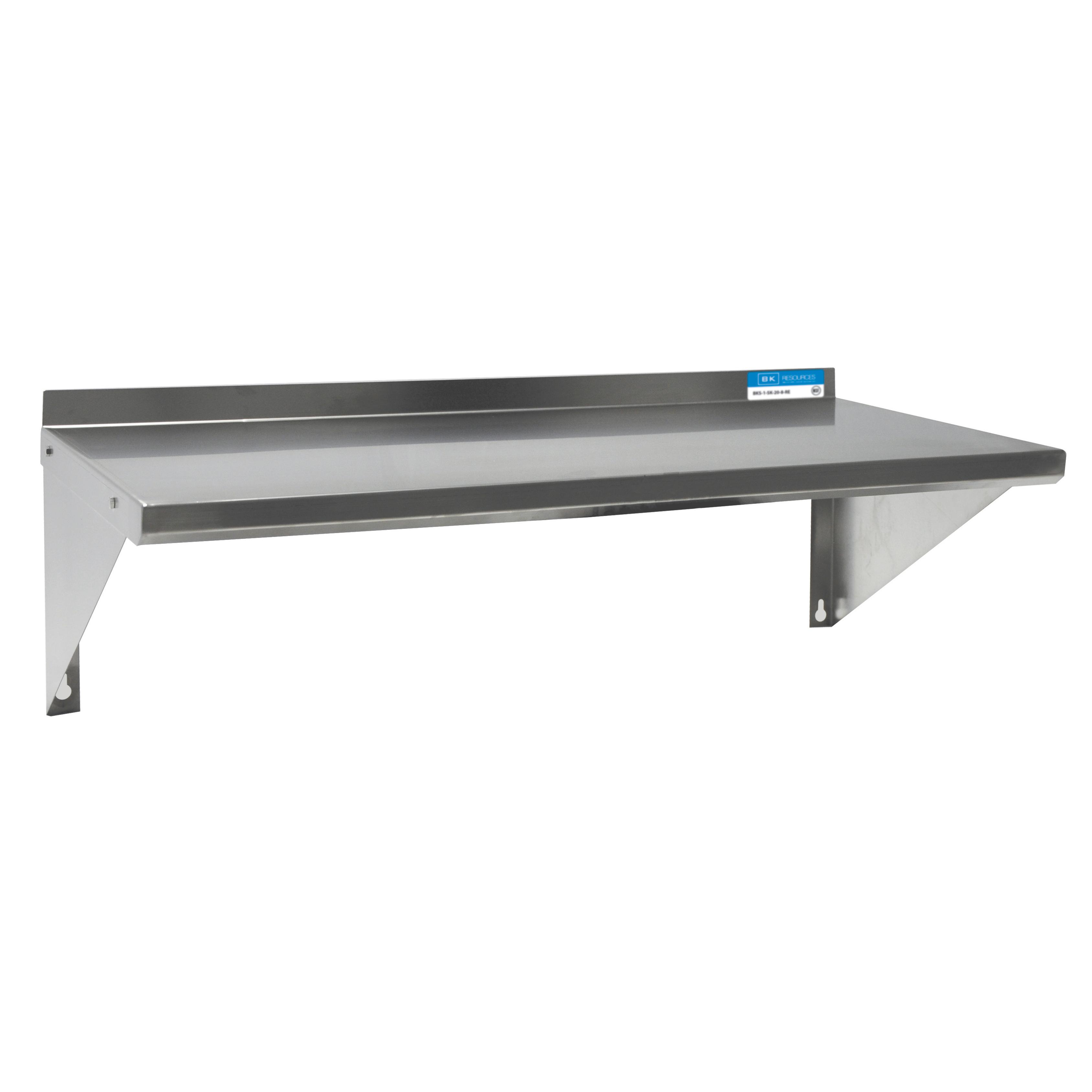 BK Resources BKWS6-1460 shelving, wall mounted