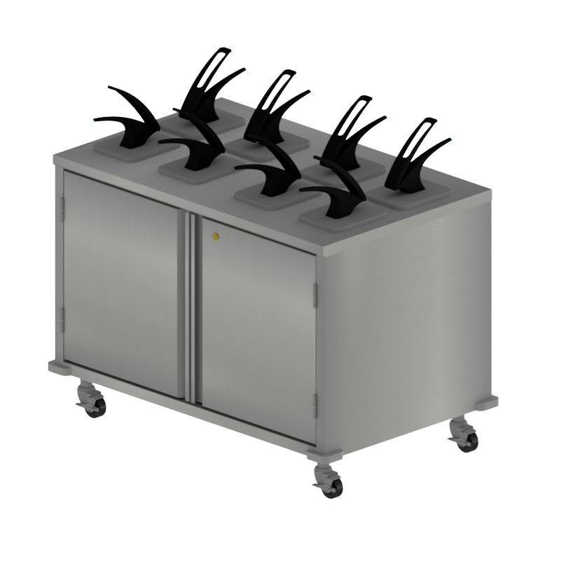BK Resources CC-DP-488D cart, condiment