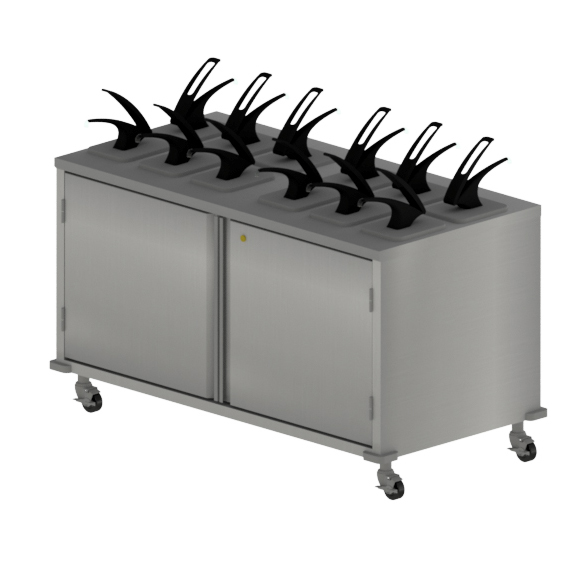 BK Resources CC-DP-6012D cart, condiment