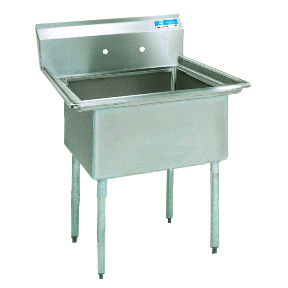 BK Resources ES-1-18-12 sink, (1) one compartment