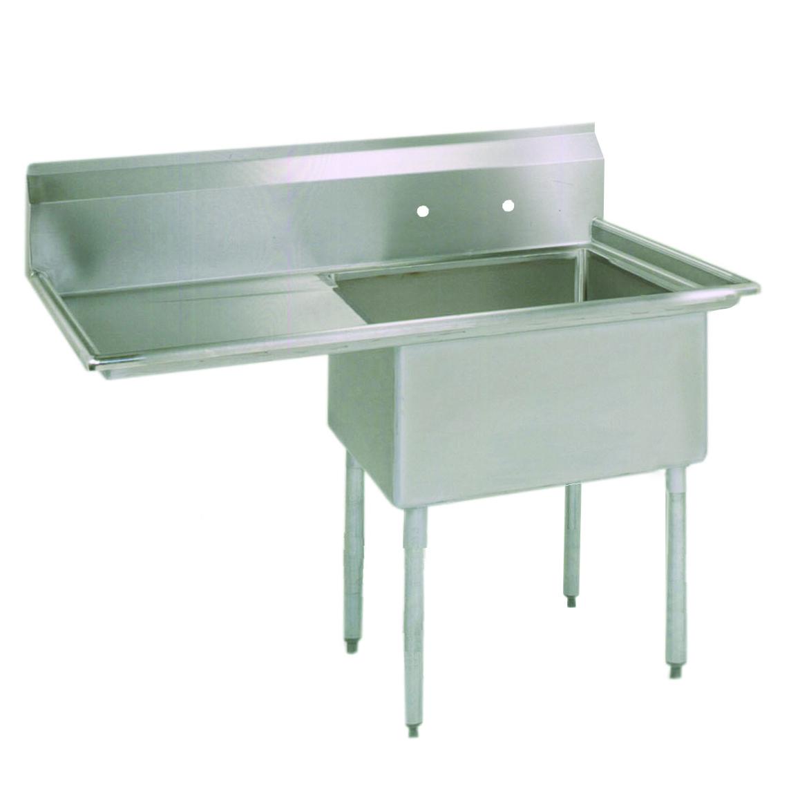 BK Resources ES-1-18-12-18L sink, (1) one compartment