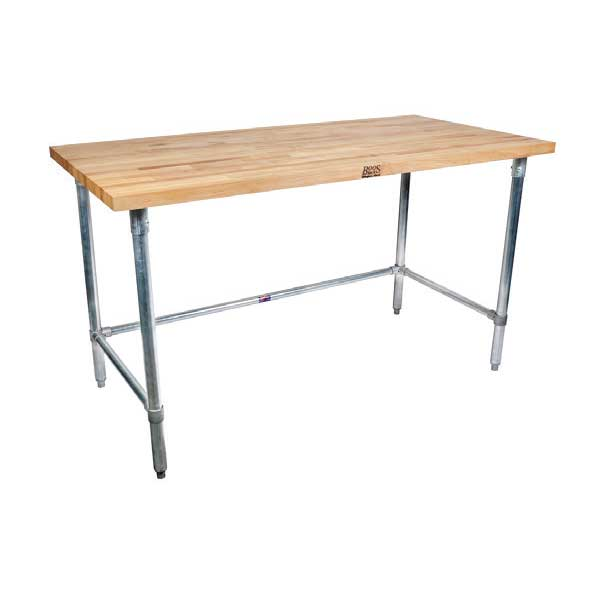 BK Resources MFTGOB-9630 work table, wood top