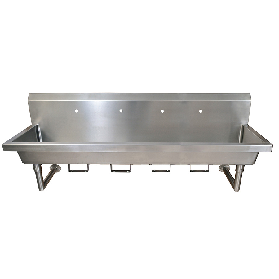 BK Resources MSHS-96W1B sink, hand