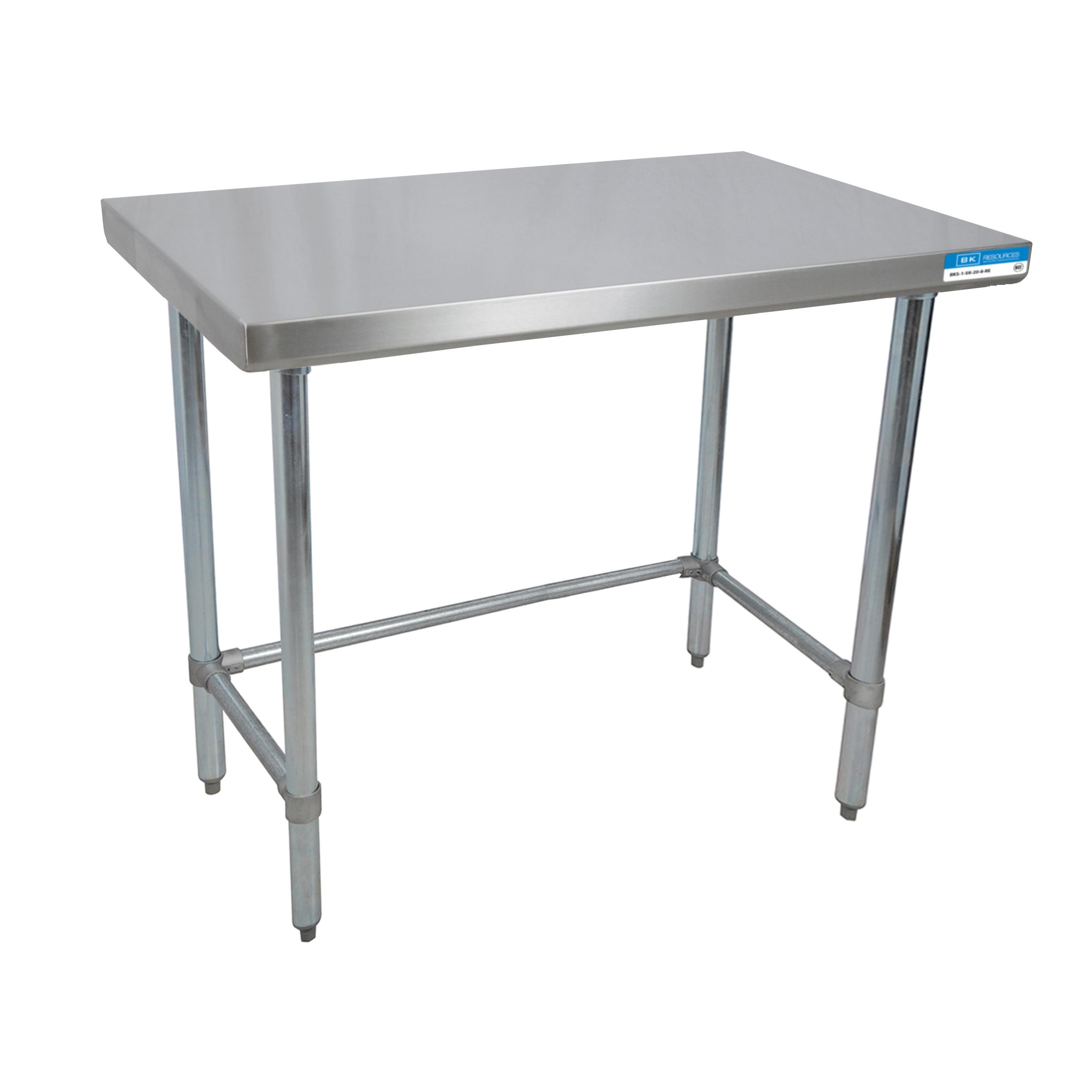 BK Resources QVTOB-2424 work table,  24