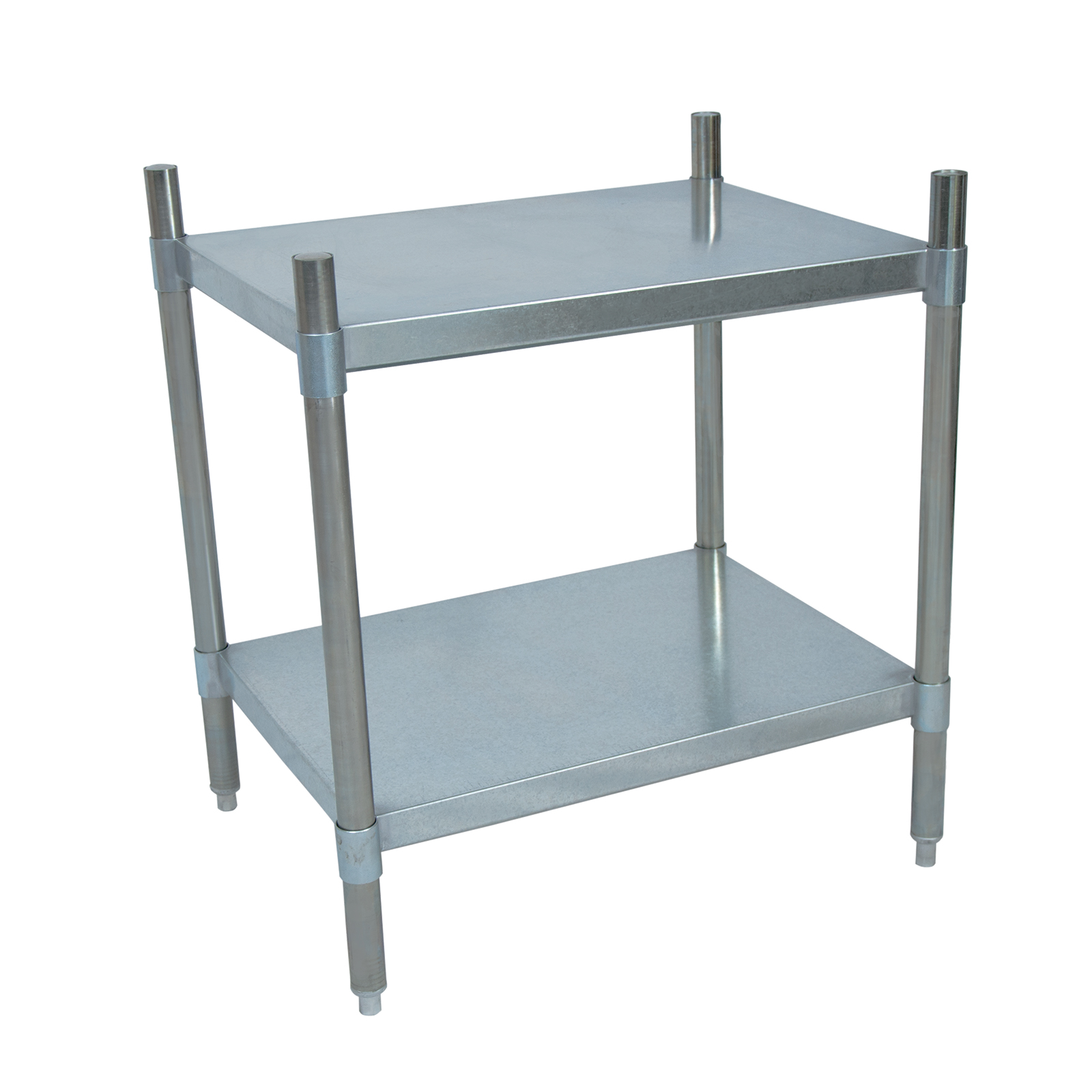 BK Resources SSU3-4324 shelving unit, solid flat