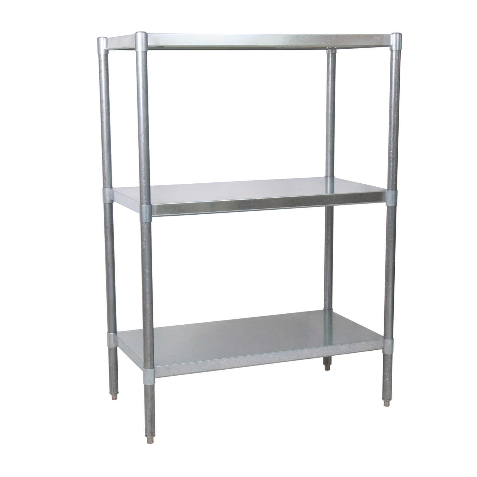 BK Resources SSU5-4324 shelving unit, solid flat