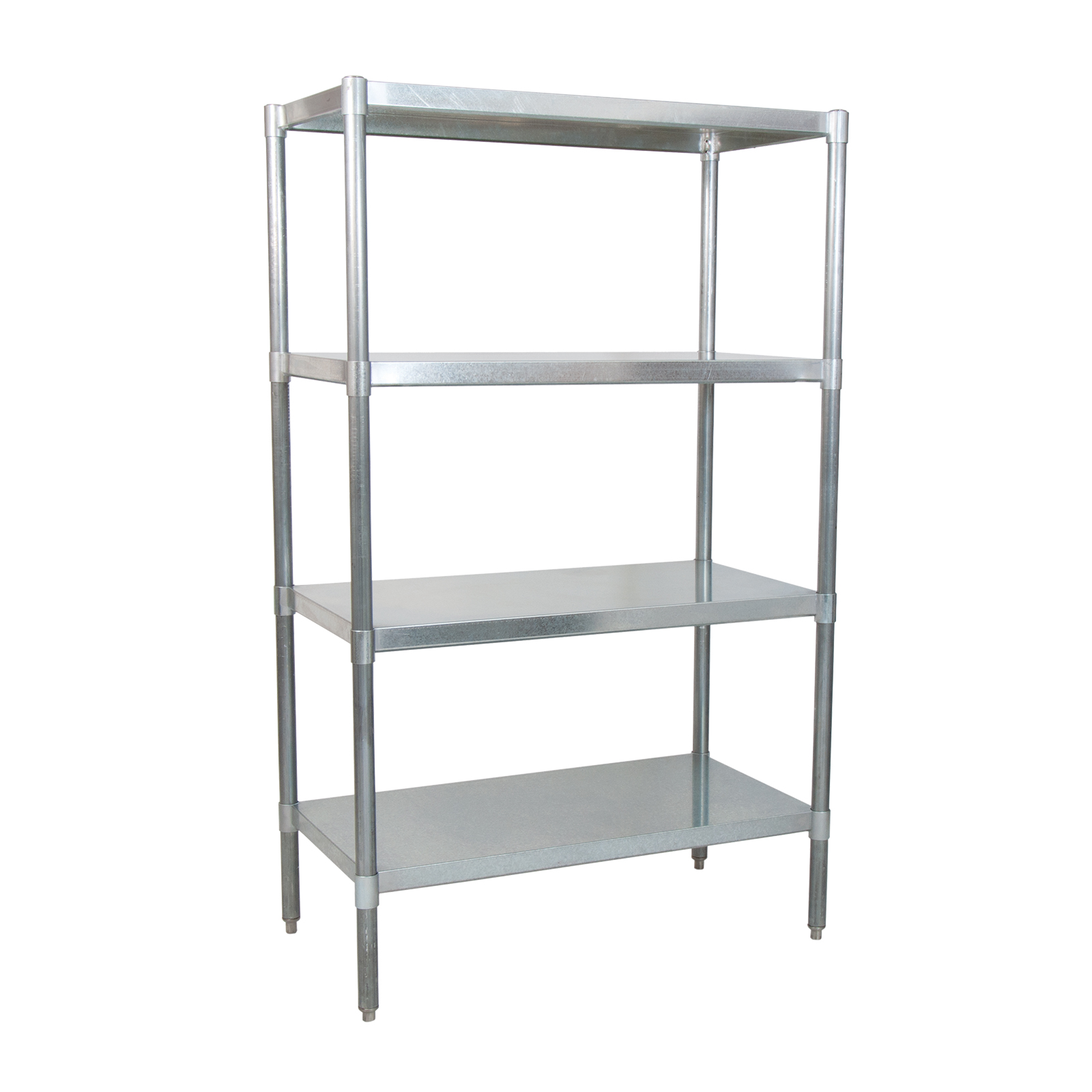 BK Resources SSU6-5524 shelving unit, solid flat